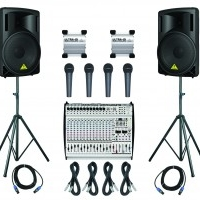 PA System available for rent/hire