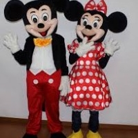 Mickey & Minnie Mouse Mascots