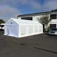 Marquee and bouncy castle hire