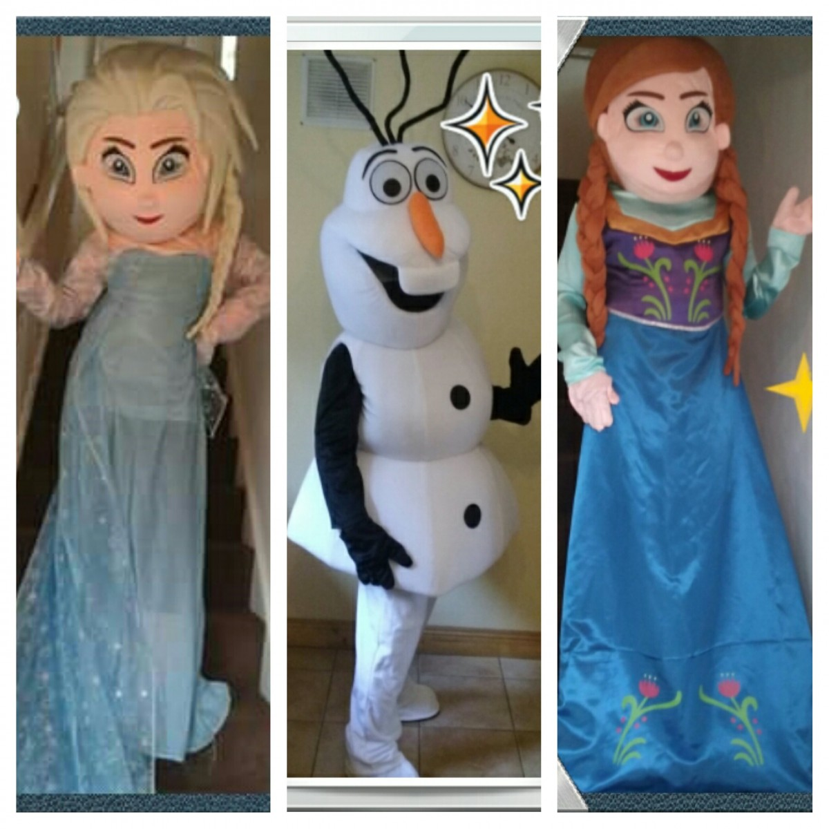 frozen mascot costumes for hire  sc 1 st  RentMyStuff.ie & frozen mascot costumes for hire - Other - Wicklow (Co. Wicklow) -